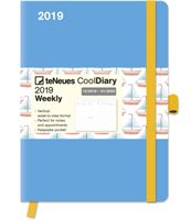 Cool Diary Lightblue/Boat 2019