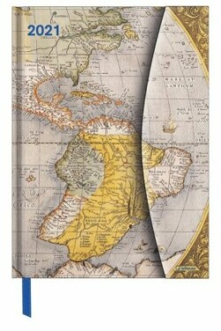 Antique Maps 2021 Magneto Diary