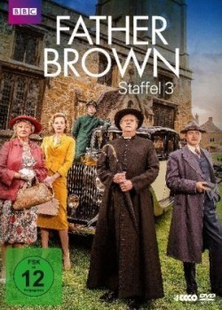 Father Brown. Staffel.3, 4 DVDs