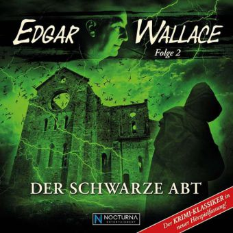 Edgar Wallace - Der Schwarze Abt, 1 Audio-CD