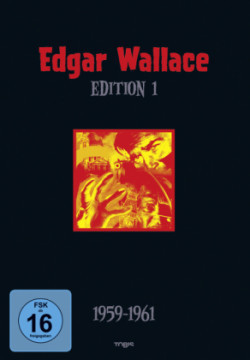 Edgar Wallace Edition - 1959-1961. Tl.1, 4 DVDs