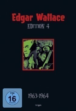 Edgar Wallace Edition - 1963-1964. Tl.4, 4 DVDs
