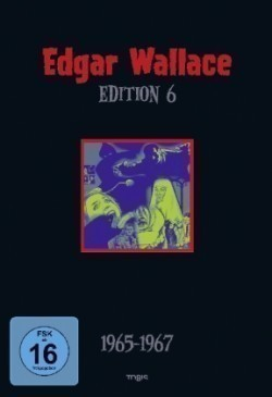 Edgar Wallace Edition - 1965-1967. Tl.6, 4 DVDs