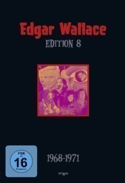 Edgar Wallace Edition - 1968-1971. Tl.8, 5 DVDs