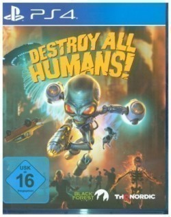 Destroy All Humans!, 1 PS4-Blu-ray Disc