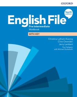 New English File 4th Edition Pre-Intermediate Workbook with Key