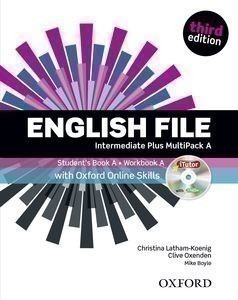 New English File 3rd Edition Intermediate Plus MultiPack A + iTutor + Online