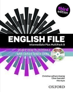 New English File 3rd Edition Intermediate Plus MultiPack B + iTutor + Online