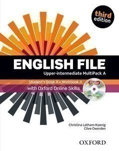 New English File 3rd Edition Upper-Intermediate MultiPack A + iTutor + Online