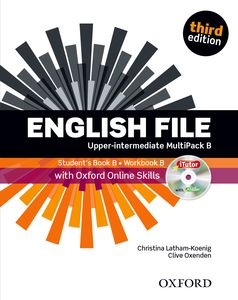 New English File 3rd Edition Upper-Intermediate MultiPack B + iTutor + Online