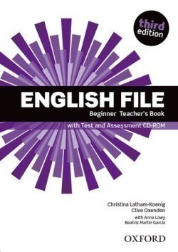 New English File 3rd Edition Beginner Teacher's Book + CD-ROM