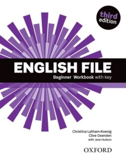 New English File 3rd Edition Beginner Workbook with Key + iChecker