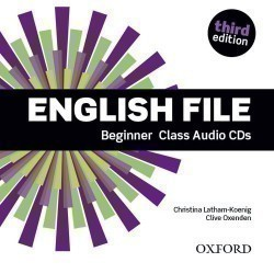 New English File 3rd Edition Beginner Class CDs (4)