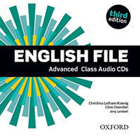 New English File 3rd Edition Advanced Class CDs (4)