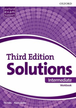 Maturita Solutions, 3rd Edition Intermediate Workbook
