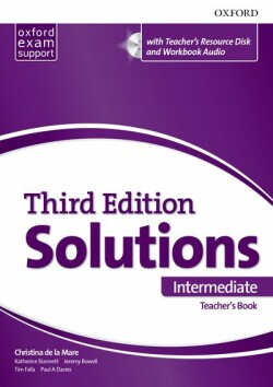 Maturita Solutions, 3rd Edition Intermediate Teacher's Book Pack