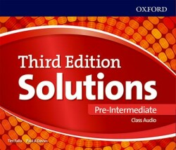 Maturita Solutions, 3rd Edition Pre-Intermediate CDs (3)