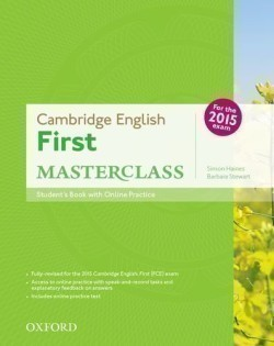 Cambridge English First Masterclass Student's Book + Online