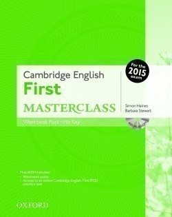 Cambridge English First Masterclass Workbook with Key + CD