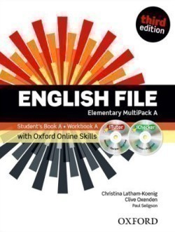New English File 3rd Edition Elementary MultiPack A + iTutor + Online