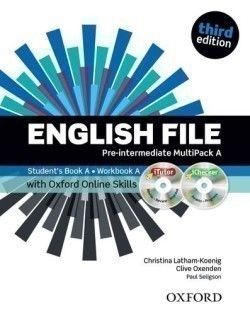 New English File 3rd Edition Pre-Intermediate MultiPack A + iTutor + Online