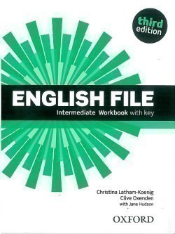 New English File 3rd Edition Intermediate Workbook with Key
