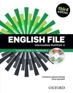 New English File 3rd Edition Intermediate MultiPack A + iTutor + Online