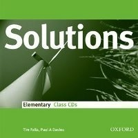 Solutions Elementary Class Audio CDs (3)