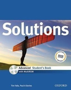 Solutions Advanced Student's Book + MultiROM Pack