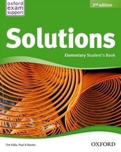 Solutions 2nd Edition Elementary Student's Book