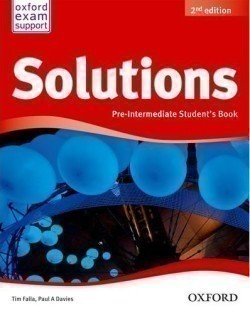 Solutions 2nd Edition Pre-Intermediate Student's Book