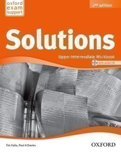 Solutions 2nd Edition Upper-Intermediate Workbook + CD