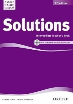 Solutions 2nd Edition Intermediate Teacher's Book + CD