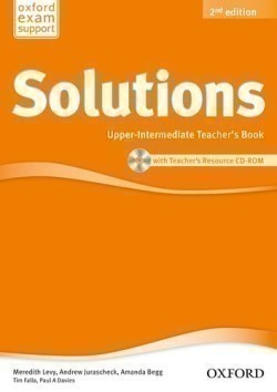 Solutions 2nd Edition Upper-Intermediate Teacher's Book + CD