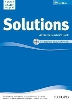 Solutions 2nd Edition Advanced Teacher's Book + CD