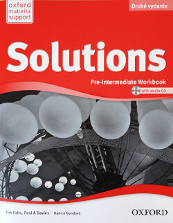 Solutions 2nd Edition Pre-Intermediate Workbook + CD (SK Edition)