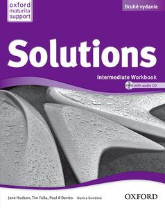 Solutions 2nd Edition Intermediate Workbook + CD (SK Edition)