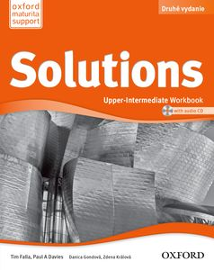 Solutions 2nd Edition Upper-Intermediate Workbook + CD (SK Edition)