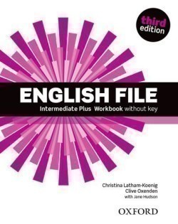 New English File 3rd Edition Intermediate Plus Workbook without Key