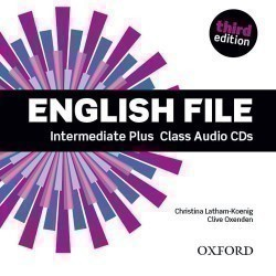 New English File 3rd Edition Intermediate Plus CDs (4)