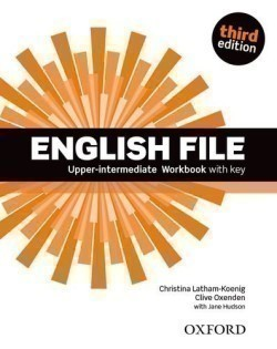 New English File 3rd Edition Upper-Intermediate Workbook with Key