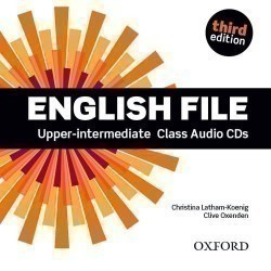 New English File 3rd Edition Upper-Intermediate CDs (4)