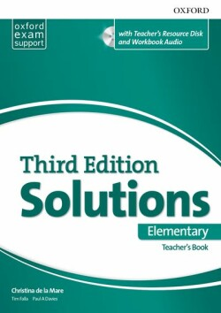 Maturita Solutions, 3rd Edition Elementary Teacher's Book Pack