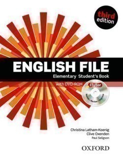 New English File 3rd Edition Elementary Student's Book + iTutor