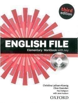 New English File 3rd Edition Elementary Workbook with Key + iChecker