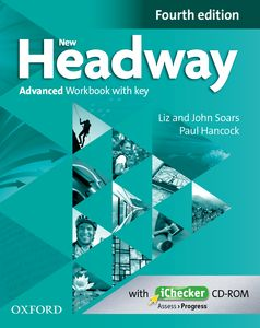 New Headway Advanced 4th Edition Workbook with Key + iChecker