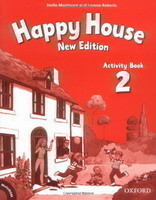Happy House 2 New Edition Activity Book + MultiROM Pack