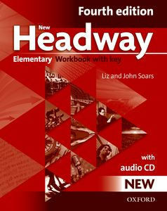 New Headway Elementary 4th Edition Workbook + CD with Key