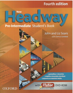 New Headway Pre-Intermediate 4th Edition Student's Book + DVD (SK Edition)