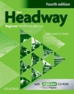 New Headway Beginner 4th Edition Workbook with Key + iChecker